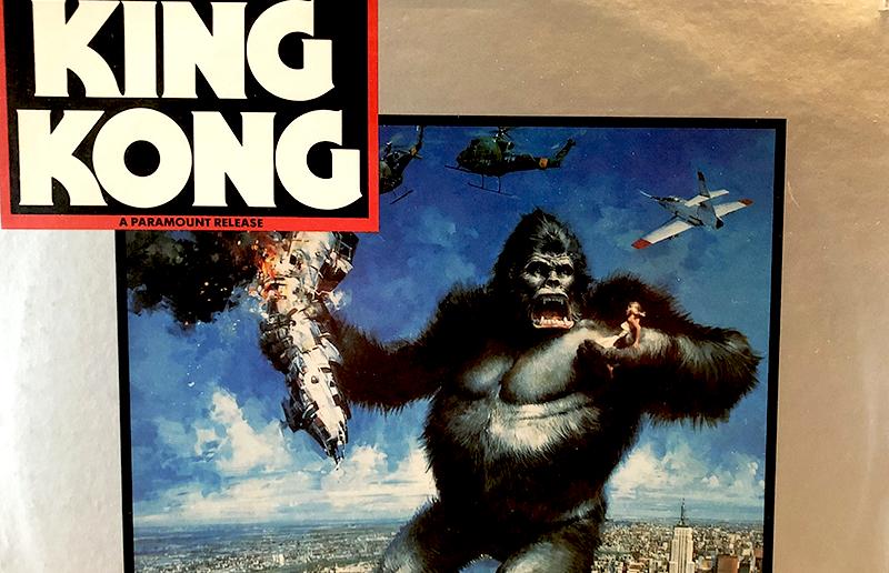 Kong! The 8th Wonder On Vinyl