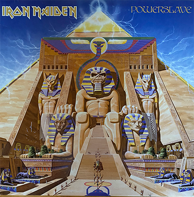 "Iron Maiden's Remastered ""Powerslave"" on Vinyl"