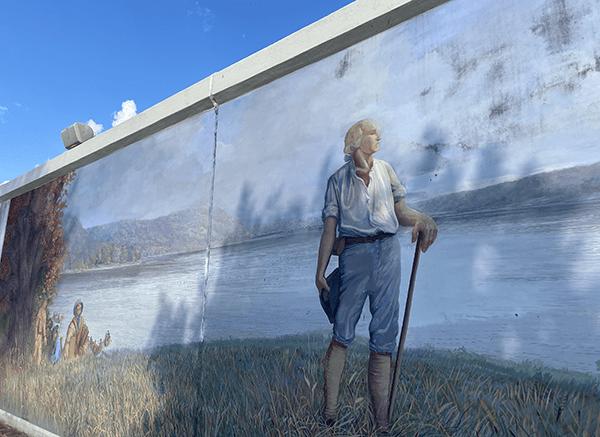 George Washington Wall | Point Pleasant, WV