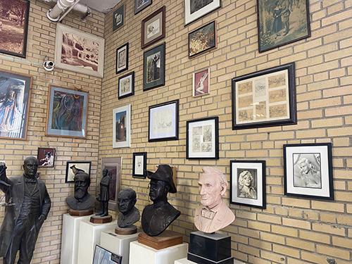 Alan Cotrill Sculpture Studio | Zanesville, OH | Earthscaper