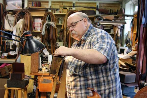 Historic Roscoe Village | Coshocton, OH | Leather Shop
